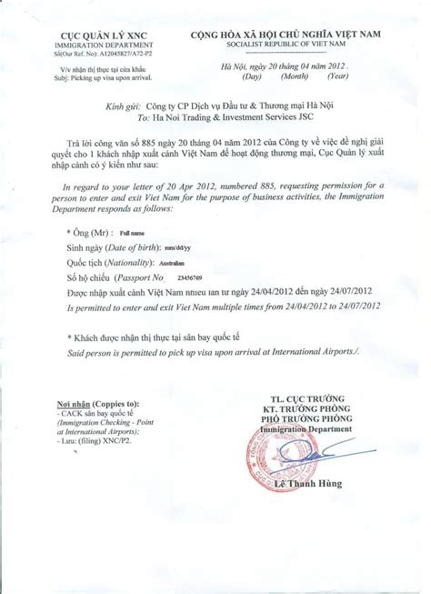 Leave Approval Letter From Employer To Embassy Ways To Get Visa Travel Information For From Local Experts