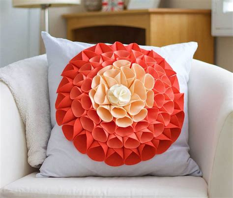 Pillow Ideas by No Sew Pillow Embellishment Bigdiyideas