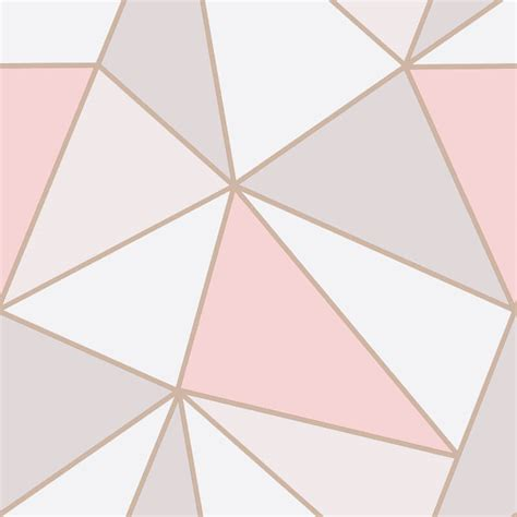 gold geometric wallpaper geometric wallpaper rose gold 20170816084441 tiawuk com