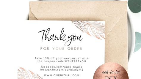 Our Card Template by Template Thank You For Purchasing Our Product Template
