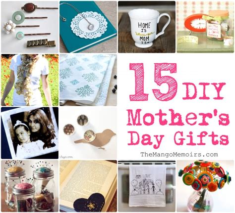 diy s day gifts for inspired diy gifts for mother s day the mango memoirs