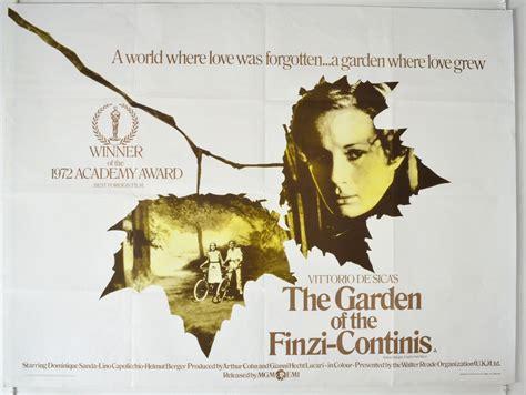 giardino finzi contini garden of the finzi continis the a k a il giardino dei