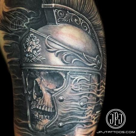 roman soldier tattoo water studio
