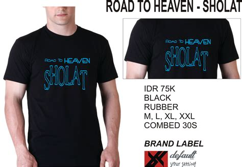 T Shirt Sholat gigih