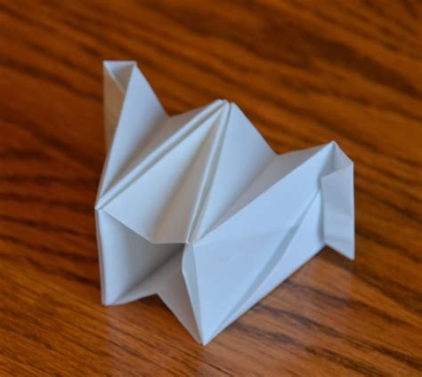 Folded Paper Cup - a wren in my teacup origami accordion box