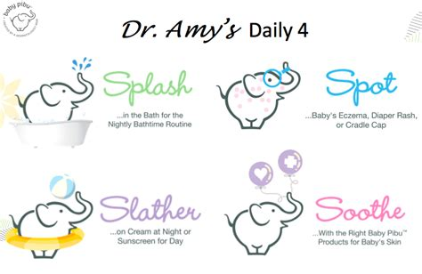 Dr Schultzs Four Steps To Beautiful Skin by Dr S Daily 4 4 Steps For Daily Baby Skin Care