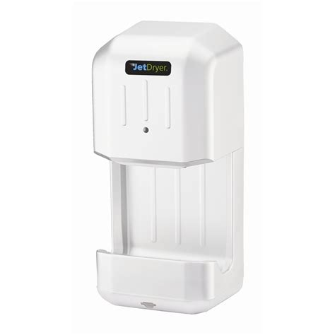 bathroom hand dryer jetdryer white mini bathroom hand dryer i n 4420358