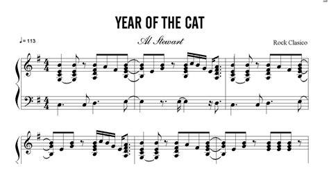 piano tutorial year of the cat partitura el a 241 o del gato al stewart curso de