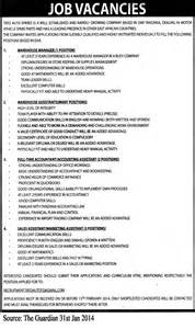 warehouse supervisor resume sles warehouse manager warehouse assistants accountant