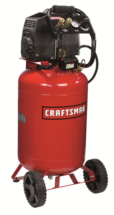 craftsman air compressor 20 gallon vertical 120v ac 150 psi max 3 8 cfm 90 psi ebay
