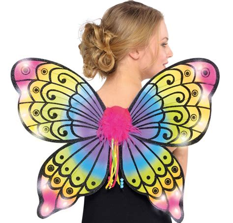light up butterfly wings electric party light up butterfly wings by amscan