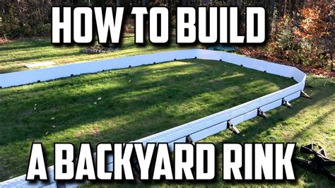 build a backyard rink how to build a backyard hockey rink
