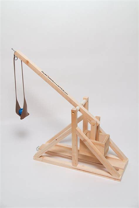swinging counterweight trebuchet plans to build wooden trebuchet kit by oakland ballistics