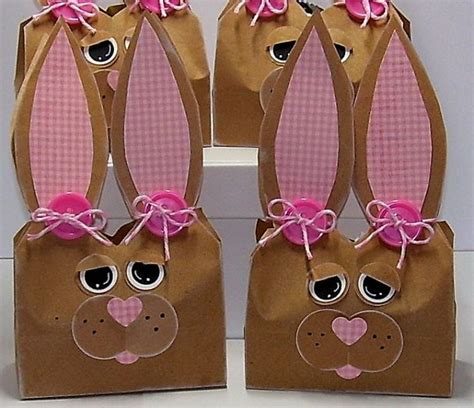 Paper Bag Bunny Craft - 17 best images about paper bag crafts on