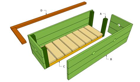 wood  plans woodworking plans planter box   diy