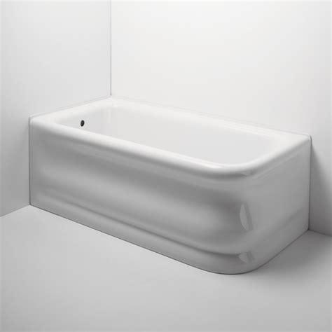 traditional bathtubs waterworks empire corner rectangular bathtub traditional