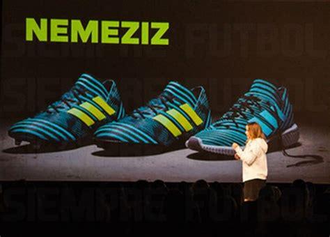 Sepatu Futsal Adidas Messi Nemeziz 17 1 Agility Bandage White Blue adidas nemeziz 17 1 voetbalschoenen 2017 unlock agility