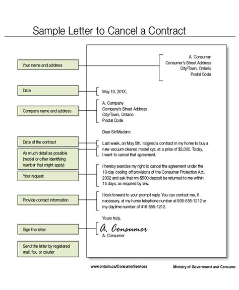 Bid Letter Exles termination letter commercial contract 28 images