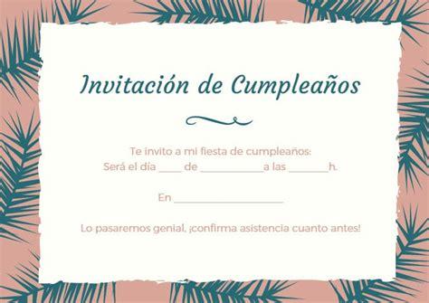 imagenes sin frases para cumpleaños tarjetas de invitaci 243 n de cumplea 241 os imagenes y tarjetas