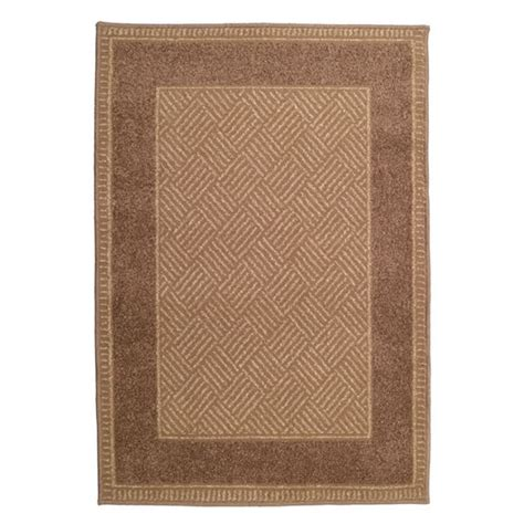 Hearth Rug Orian Contemporary Woodstock Flax Olefin Hearth Rug