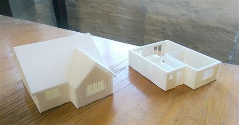 home design 3d printing 3d printed miniature house project ard digital