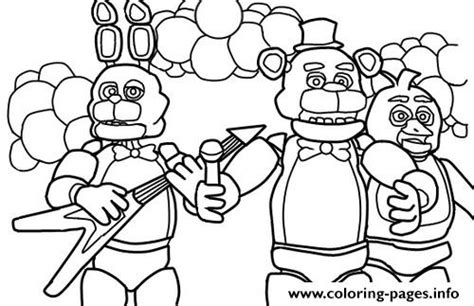 f naf 2 coloring pages chica toy bonnie cute f naf coloring pages printable bonnie best