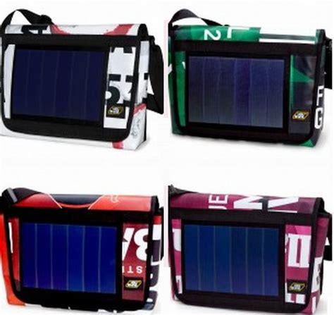 Picard Solar Bag Keeps Gadgets Juiced Up by Youshine Solar Powered Bag Keeps Your Iphone Juiced Up At