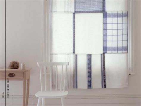 towel curtains freshly found tea towel cafe curtains