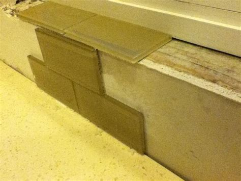 Window Sill Tiles Question On Tiling A Window Sill Ceramic Tile Advice