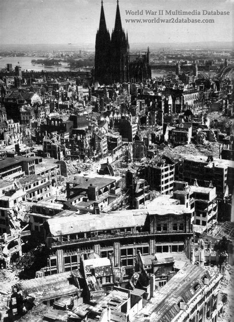 World War II Pictures In Details: Ruins of Cologne and