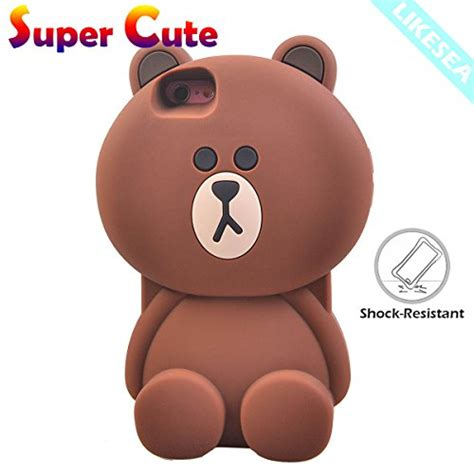 Softcase Tpu 3d Lentur Teddy Line Brown Samsung Galaxy J5 brown bears iphone 6 price compare