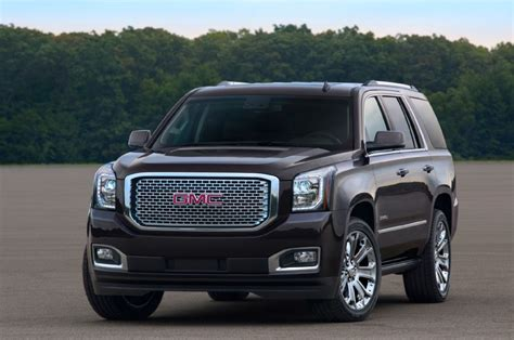 gmc denali yukon 2015 2015 gmc yukon denali front three quarter photo 302044