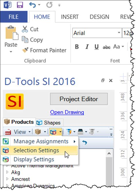 visio user guide selection settings for shapes d tools