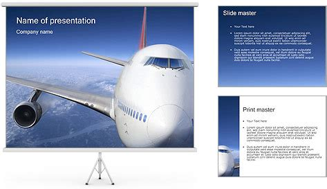 Airport Powerpoint Template Backgrounds Id 0000000909 Airport Ppt Template Free