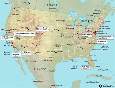 map of the continental united states paw technologies continental united states