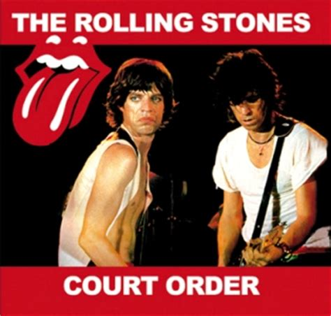 Court Order For Records The Rolling Stones Court Order Godfather Records Gr536 Collectors Reviews