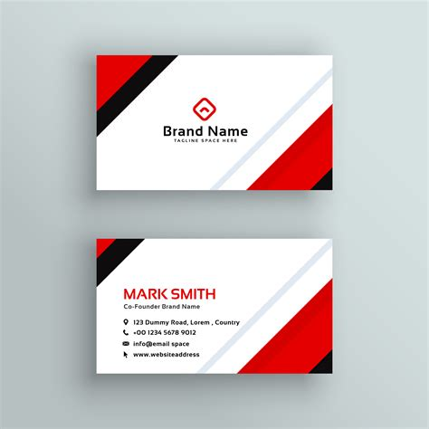 Professional Colors For Business Cards