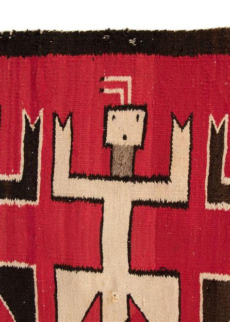 navajo yei rug vintage navajo rug pictorial yei weaving 20th century for sale at 1stdibs