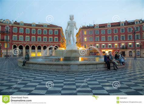 Place Massena, Nice editorial photography. Image of