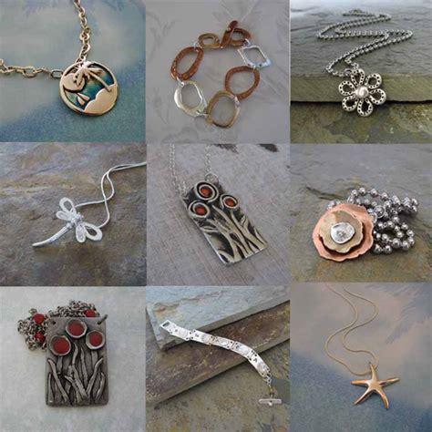 Handmade Metal Jewelry - handmade silver bronze handmade artisan jewelry by cheryl