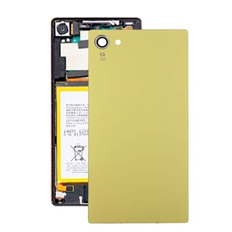 Sony Z5 Gold Second Ori for sony xperia z5 compact original back battery cover