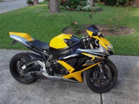 Suzuki 600 Gsxr 2009 For Sale Buy 2009 Suzuki Gsxr600 Black Yellow On 2040 Motos