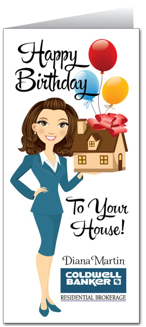 happy house real estate happy birthday to your house real estate card 81002 harrison greetings business