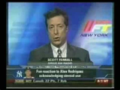 ferrel on the bench scott ferrall on alex rodriguez espn first take youtube