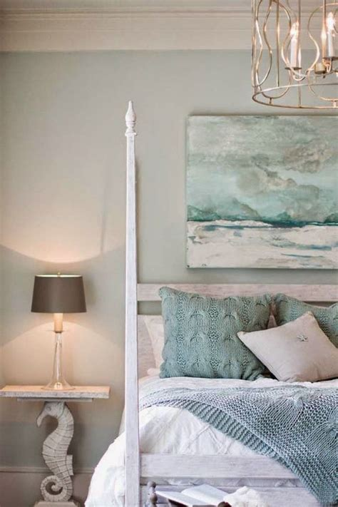seaside bedroom coastal style colour inspiration seafoam sand