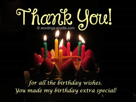 Thank You Card For Birthday Wishes How To Say Thank You For Birthday Wishes Wordings And