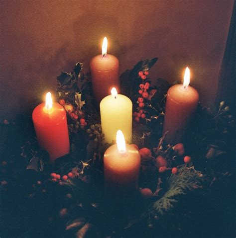 Advent traditions 1 the advent wreath the venable four