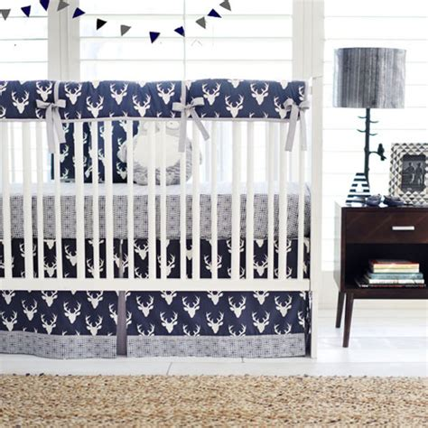 blue deer crib bedding navy crib bedding navy deer