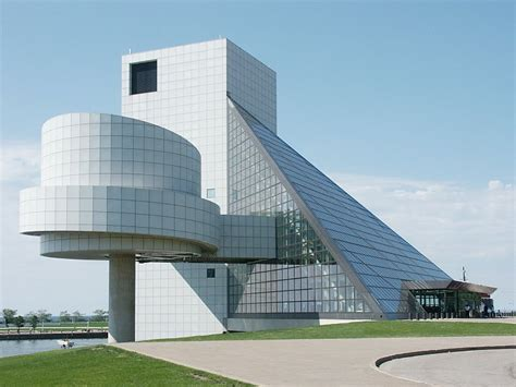 architects cleveland ohio images of rock and roll of fame and museum by pei