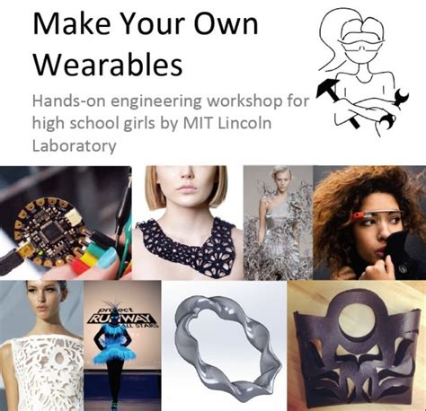 mit lincoln labs ma who build make your own wearables workshop